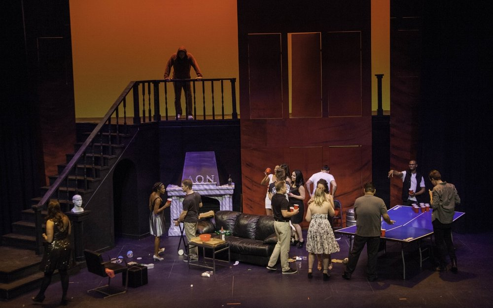 Don Giovanni as Big Man on Campus in Opera Orlando's 16/17 production
